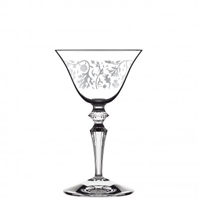 Wormwood Astoria dekorerat martiniglas decored cocktail glass 130 ml 6-pack