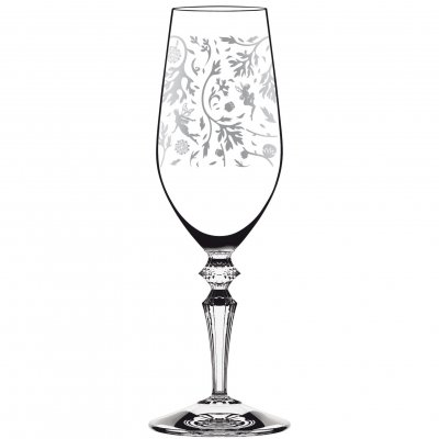 Italesse Wormwood Fizz dekorerat decored champagneglas champagne glass 260 ml