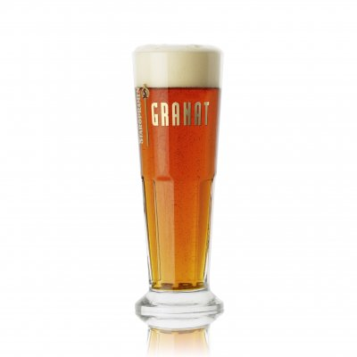 Staropramen Granat beer glass 40 cl