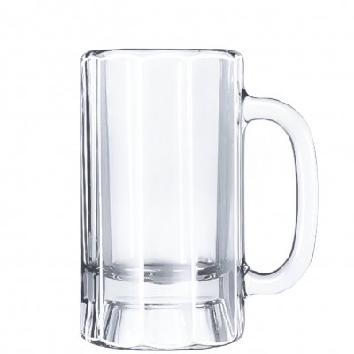 Libbey Paneled Mug beer tankard 355 ml