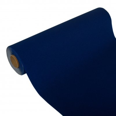 Table runner in napkin paper, blue