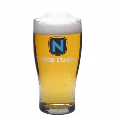 N Stor Stark beer glass