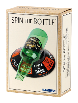 Snurra flaskan spel spin the bottle game