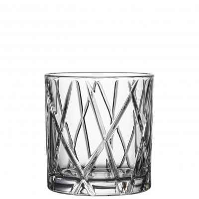 Orrefors City whisky DOF Old Fashioned tumbler