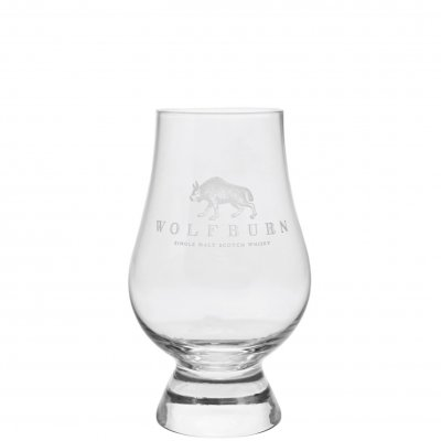 Wolfburn whiskyglas whiskey glass glencairn