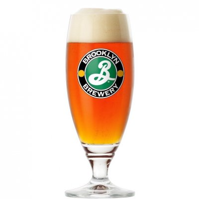 Brooklyn Brewery ölglas 40 cl