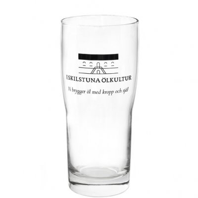 Eskilstuna Ölkultur beer glass 40 cl