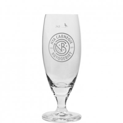 Nya Carnegiebryggeriet beer glass 40 cl