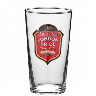Fuller's London Pride beer glass 50 cl