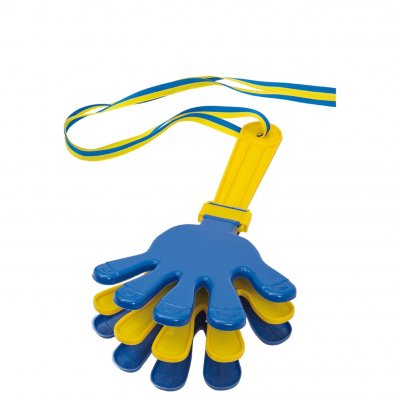 Hand clapper blue/yellow