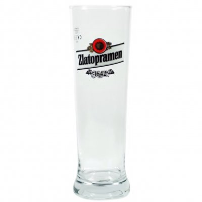 Zlatopramen ölglas 50 cl beer glass