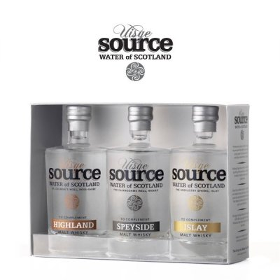 Uisge Source whiskyvatten 3-pack