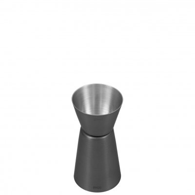 Measuring cup 2,5-5 cl Gun Metal black