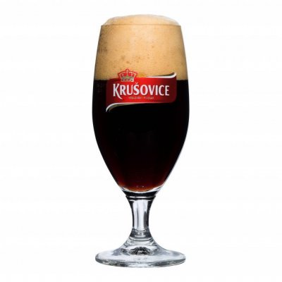 Krusovice beer glass 30 cl