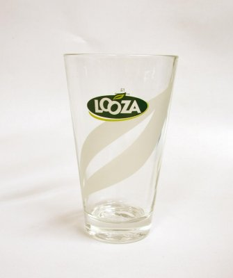Looza Fruit Juice Glass