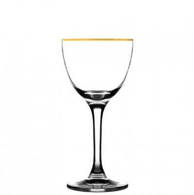 Nick & Nora Gold Rim cocktailglas 16 cl