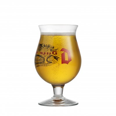 Duvel 33 C Beer Glass Tulip