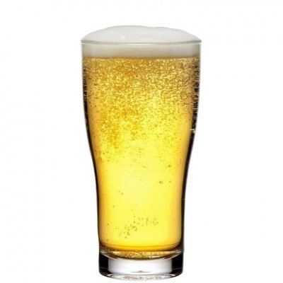 Plastic beer glass 40 cl