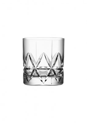Orrefors Peak Double Old Fashioned glass 4-pack
