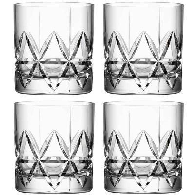 Orrefors Peak Double Old Fashionedglas 4-pack