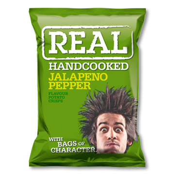 Real Chips - Jalapeno Pepper 35 gram