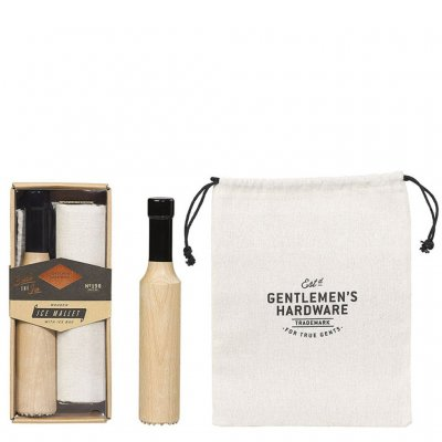 Gentlemen's Hardware ice mallet with ice bag