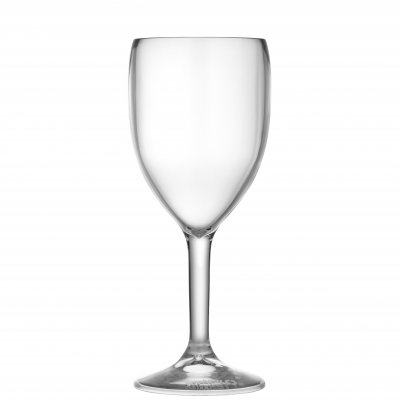 Syrah plastic wine glass 25 cl