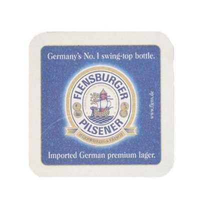 Flensburger Pilsener Coaster 6-pack
