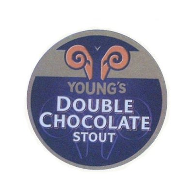 Coasters Young's Double chocolate stout 6-pack