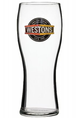 Weston ciderglas pint