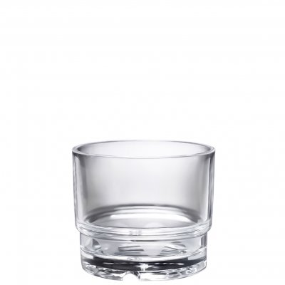 Plastic whiskey glass 15 cl