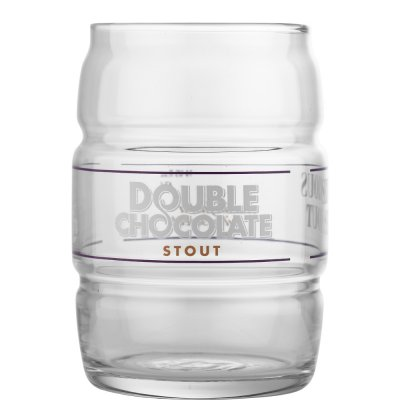 Youngs Double Chocolate Stout beer glass