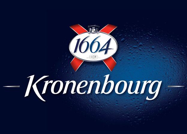 Kronenbourg 1664 ölglas 50 cl - Frankrike - Ölglas