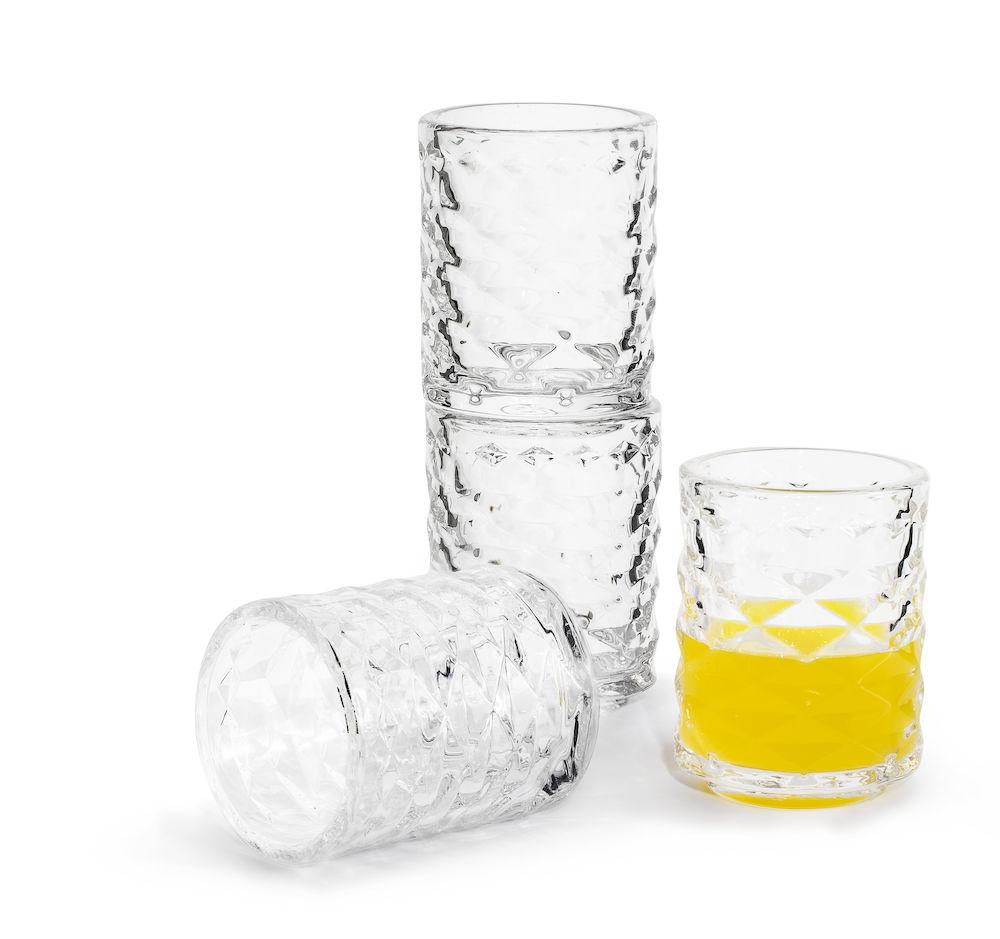 sagaform club shotglas 4 pack whiskyglas. Black Bedroom Furniture Sets. Home Design Ideas
