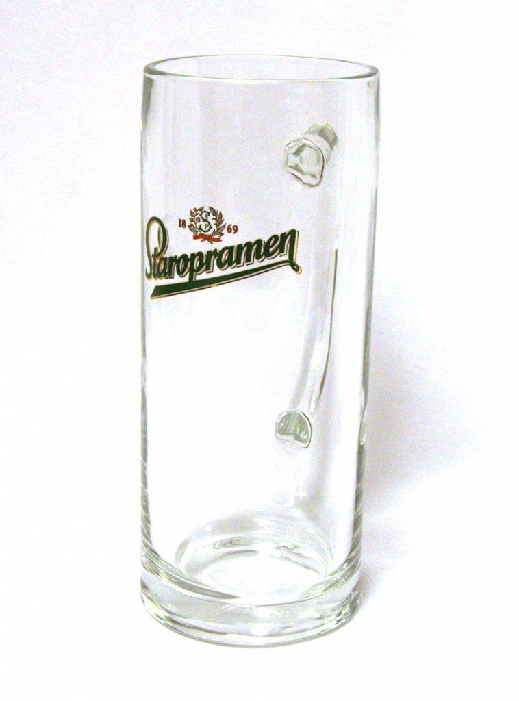 staropramen beer mug 50 cl beer tankards beer glasses. Black Bedroom Furniture Sets. Home Design Ideas